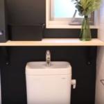 カフェ風トイレのDIYアイデア